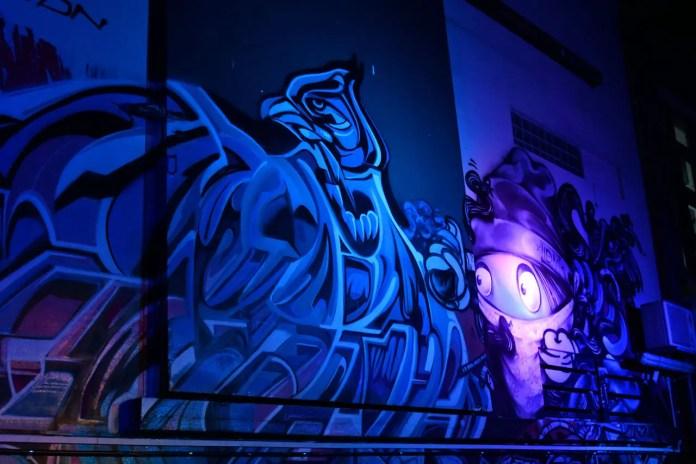 Graffiti Alley by Arup | Singapore Night Festival 2018