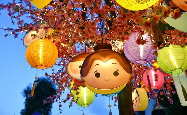 Disney Tsum Tsum Mid-Autumn Celebration of Love