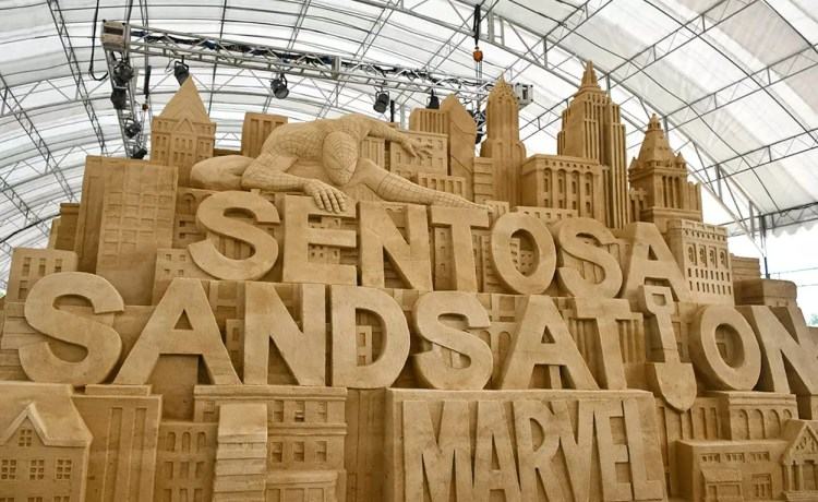 Sentosa Sandsation: MARVEL Edition