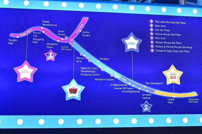 Disney Magical Moments at Orchard Road