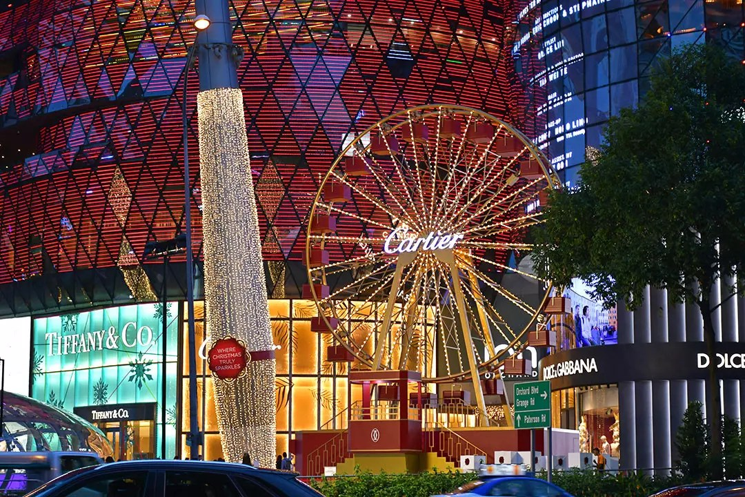 Orchard Ion Cartier ferris wheel