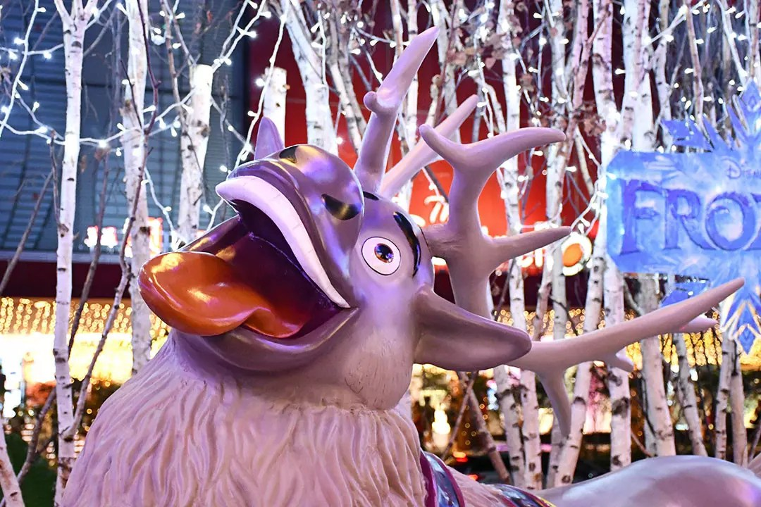 Sven the Reindeer at Orchard Central, Singapore.