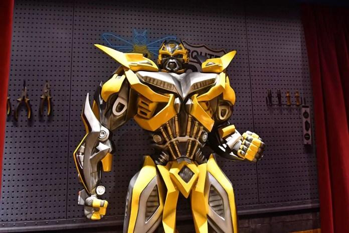 Universal Studios Singapore Bumblebee.