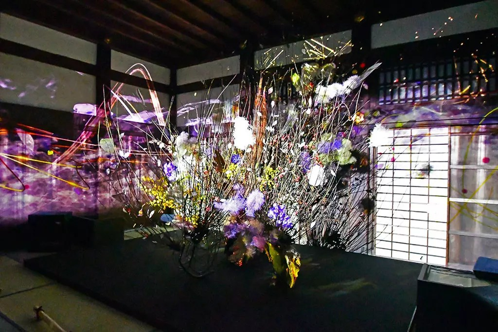 Ikebana at FLOWERS BY NAKED 2018.