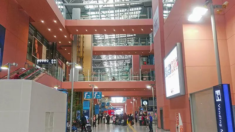 Kansai International Airport Terminal 1 Arrival Hall.