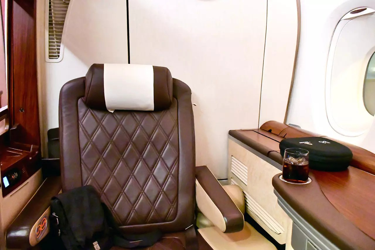 Singapore Airlines Suites Class Review (SQ618)