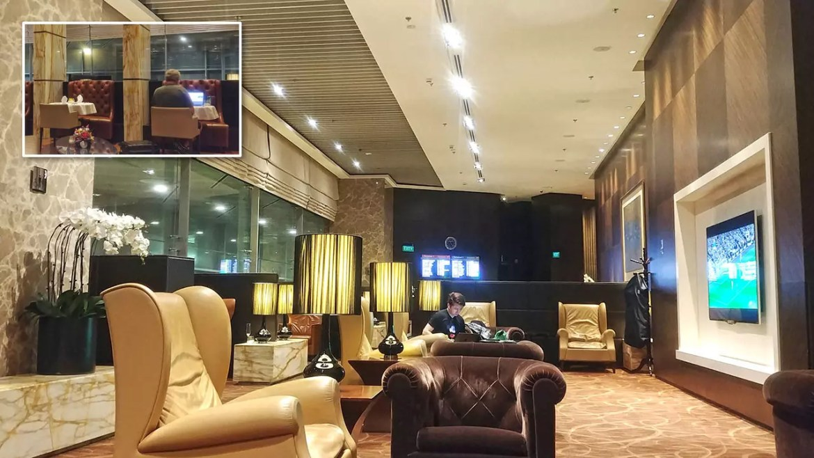The Private Room Changi Airport.