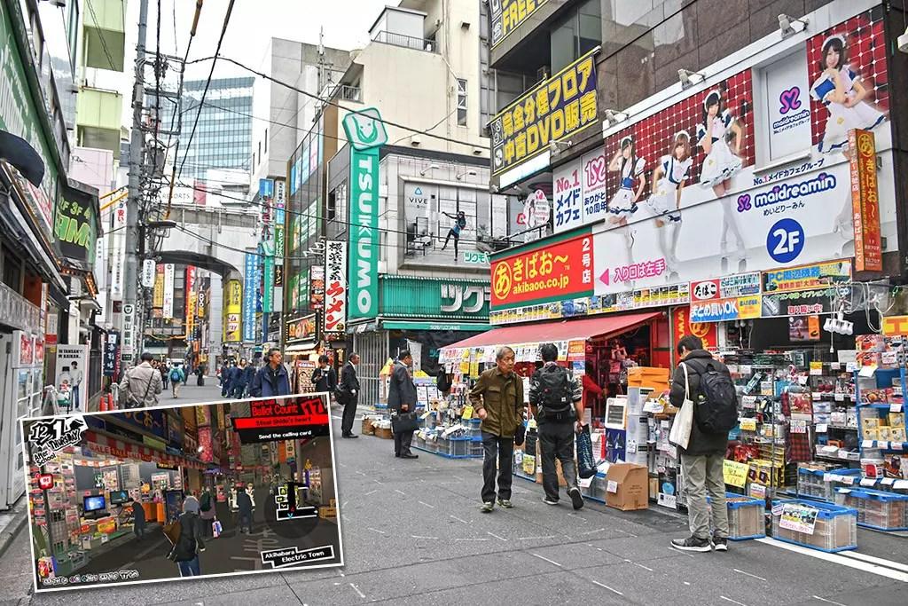 Persona 5 Tokyo Attractions   Akihabara Back Streets