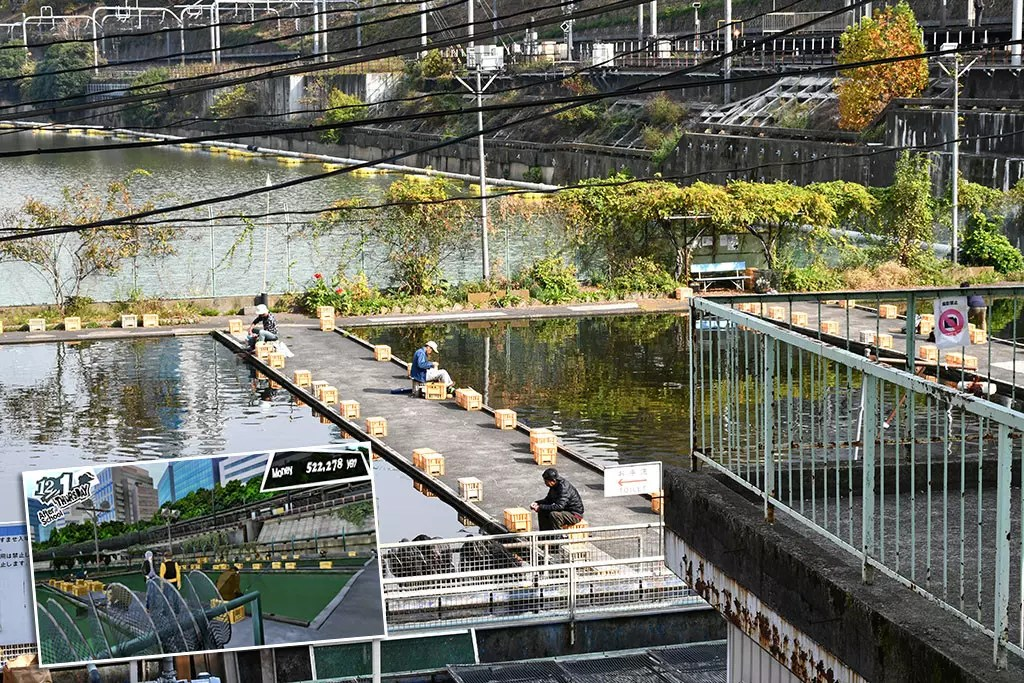 Persona 5 Tokyo Attractions   Ichigaya Fish Center