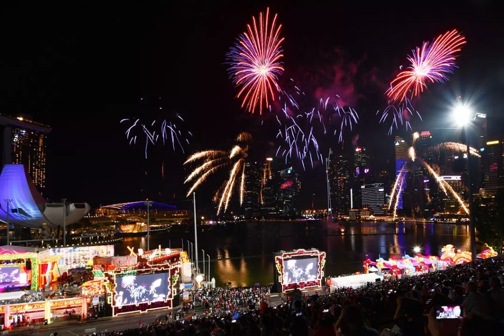 River Hongbao 2019 Fireworks.