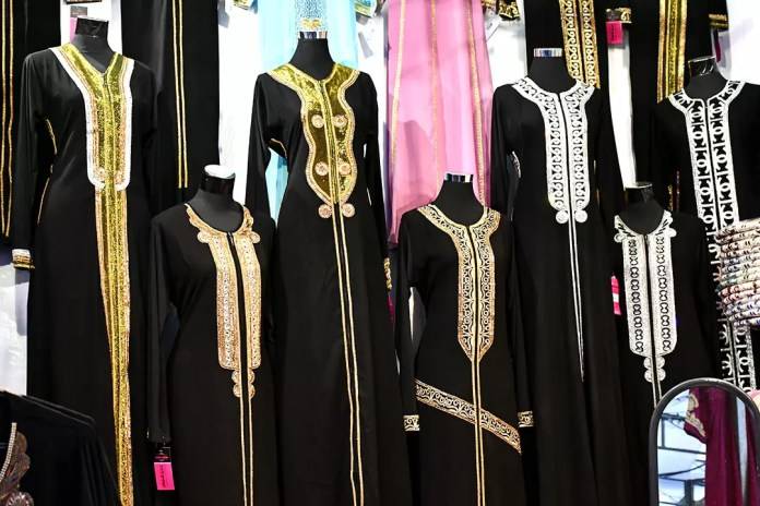 Eid al-Fitr clothes in Singapore.