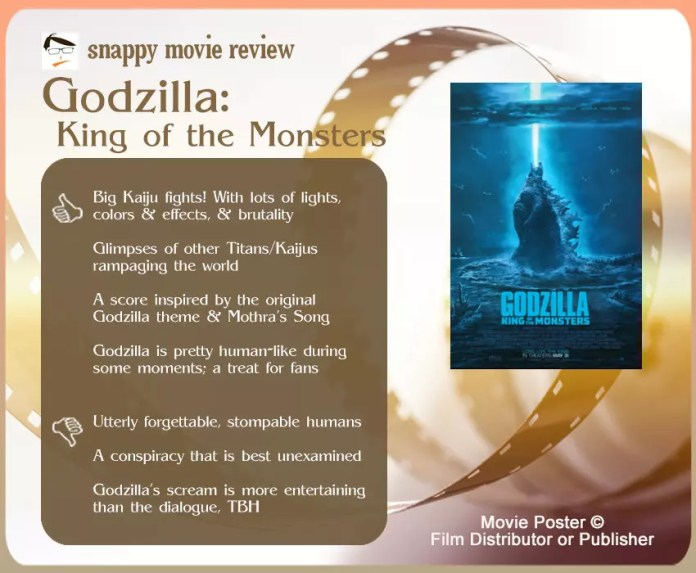 Godzilla: King of the Monsters Review: 4 Thumbs-Up and 3 Thumbs-Down