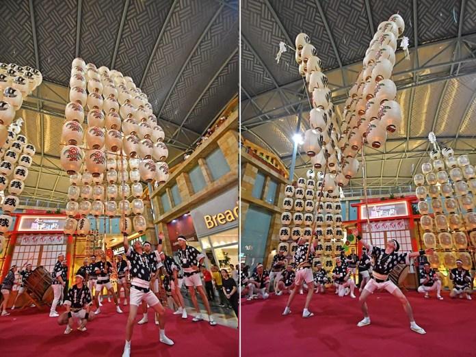 Akita Kanto Performance in Singapore.