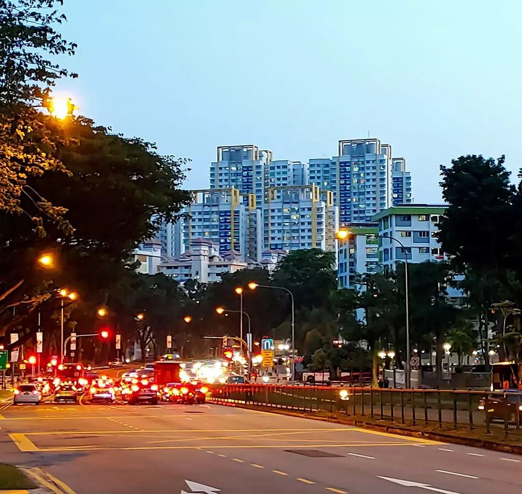 Ang Mo Kio Avenue 6 evening shot.