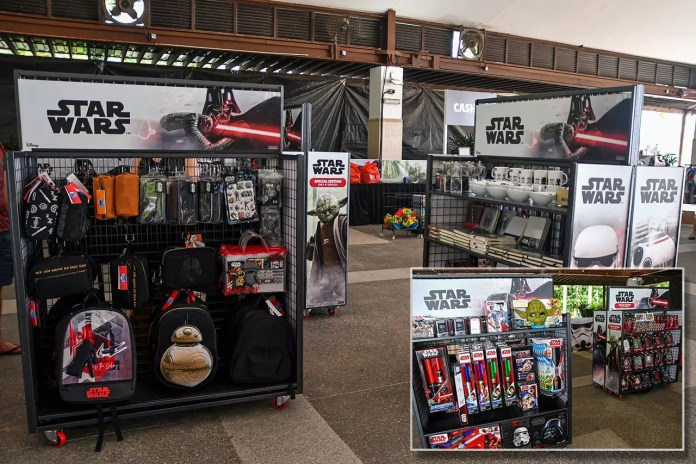 Star Wars Merchandise in Singapore.