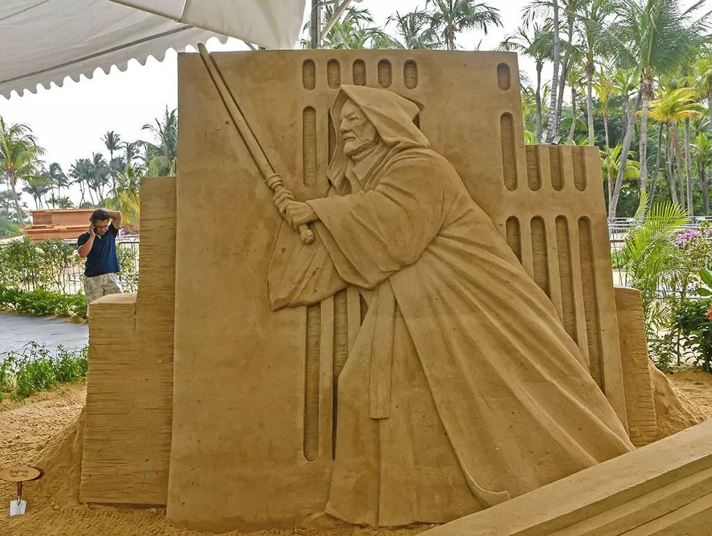 Obi-Wan Kenobi at Sentosa Sandsation STAR WARS Edition