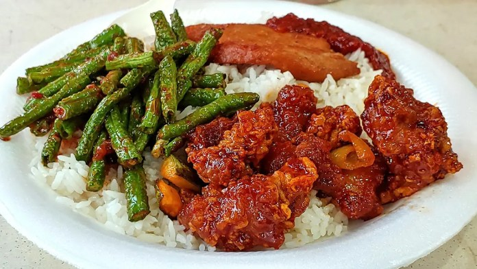 Chong Pang Nasi Lemak dinner.