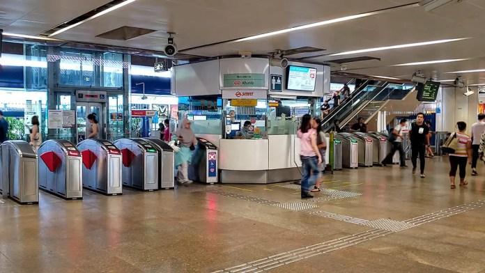 Khatib MRT Station.