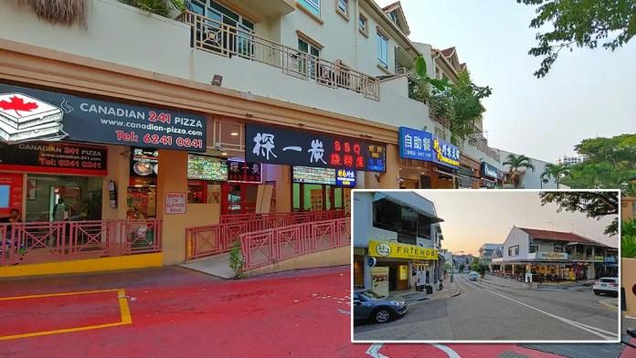 Sembawang Road restaurants.