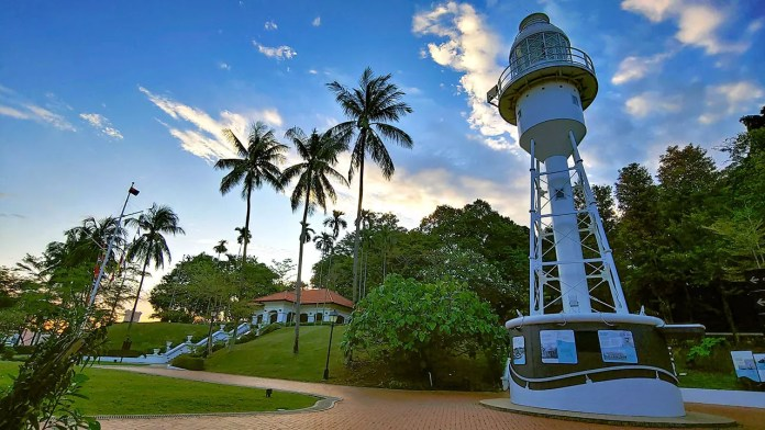 Fort Canning Lighthouse.