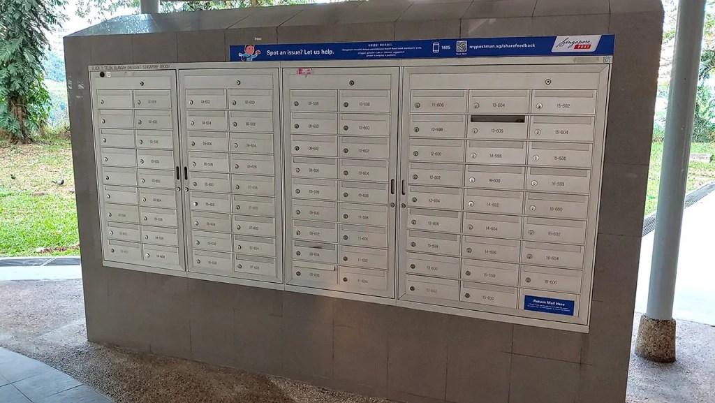 HDB Mailboxes
