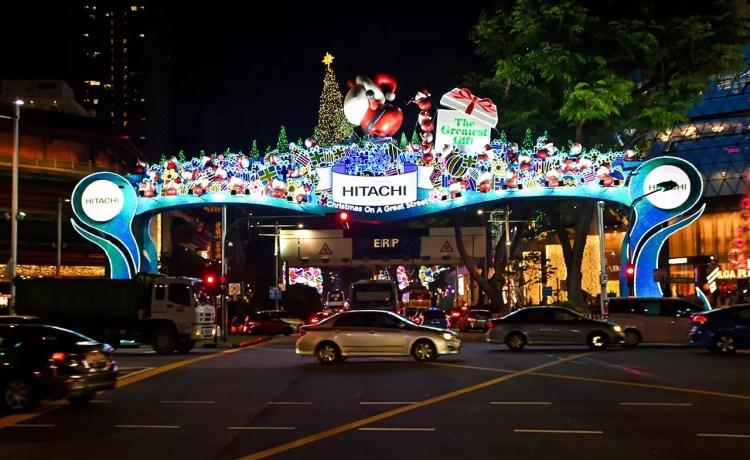 Orchard Road Christmas Lights 2019