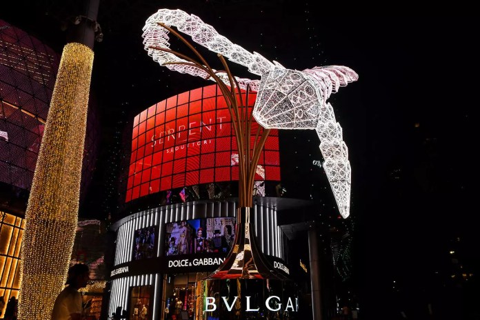 Ion Orchard Christmas 2019 Serpent