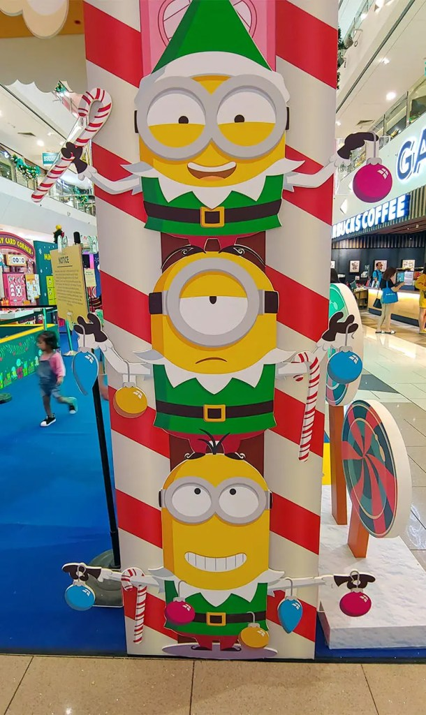 Christmas Minions at The Centrepoint