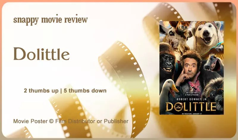 Dolittle Movie Review