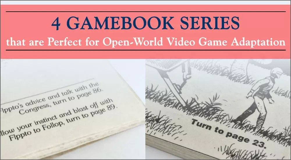 These Retro Gamebooks Will Be Perfect As Video Games!