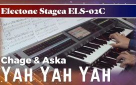 Chage and Aska Yah Yah Yah Electone Cover