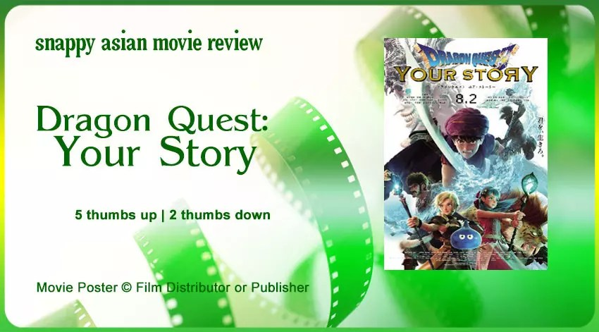 ragon Quest: Your Story Review | Anime Movie on Netflix