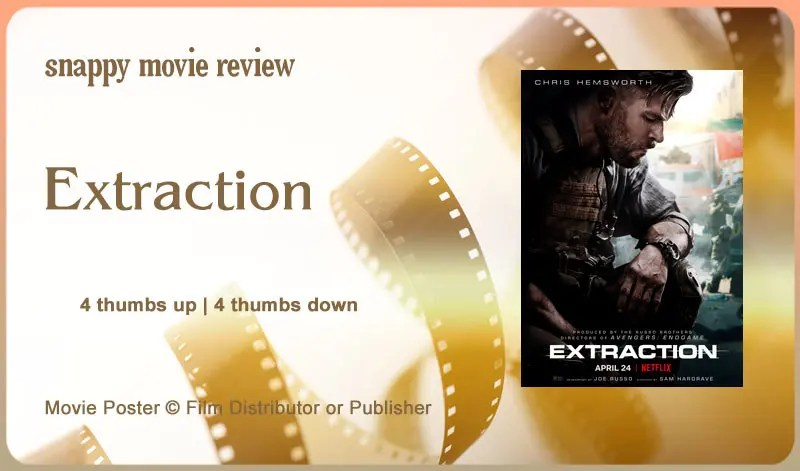 Extraction Movie Review
