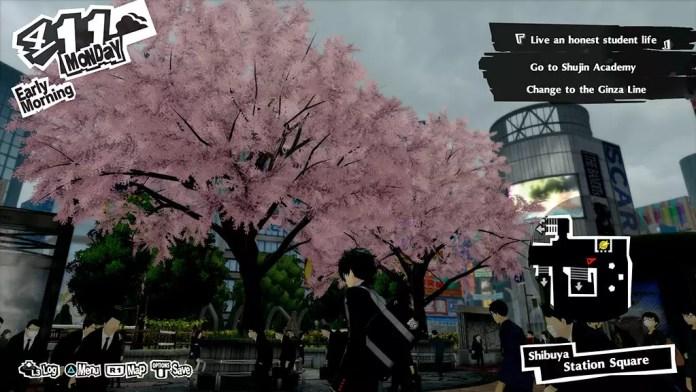 Persona 5 Royal Shibuya Station Square!