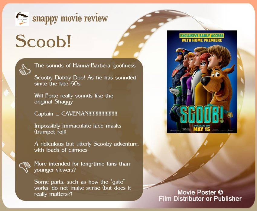 Scoob! Movie Review: 6 thumbs-up and 2 thumbs-down.