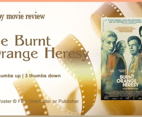 The Burnt Orange Heresy Movie Review