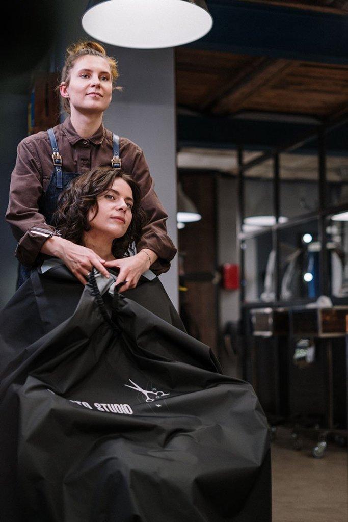 Yoon Salon Premium Hair Cut.