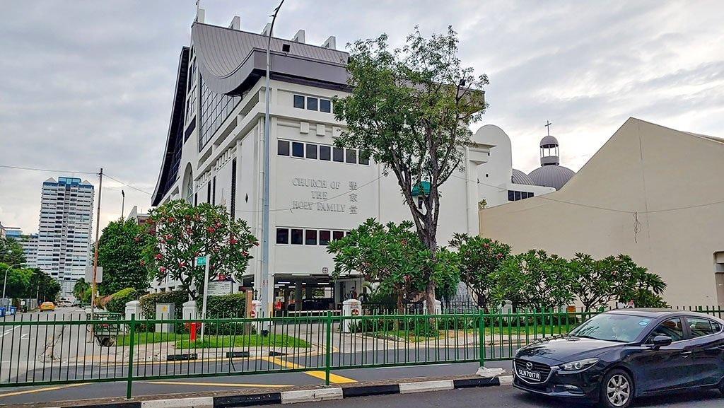 Church of the Holy Family, Singapore