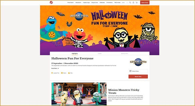 Singapore Halloween events 2020.