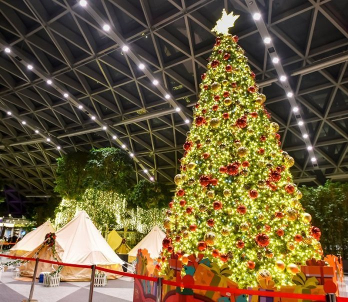 Glamping at Jewel Changi Airport