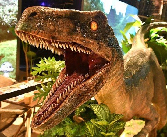 Jurassic World Café at ION Sky