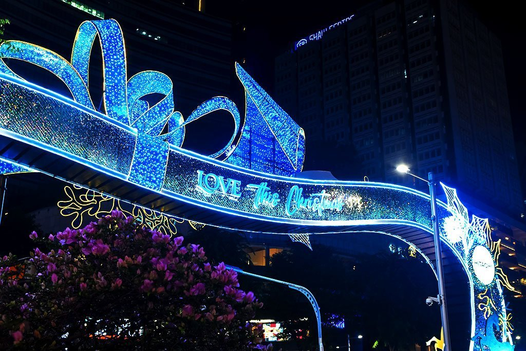 Singapore Orchard Road Christmas 2020