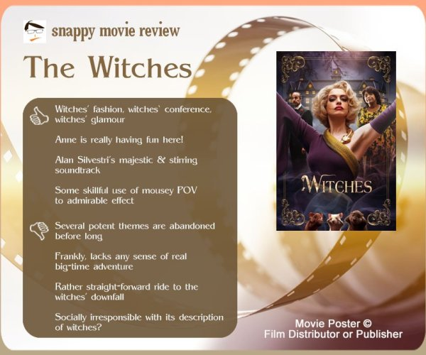The Witches (2020) Movie Review