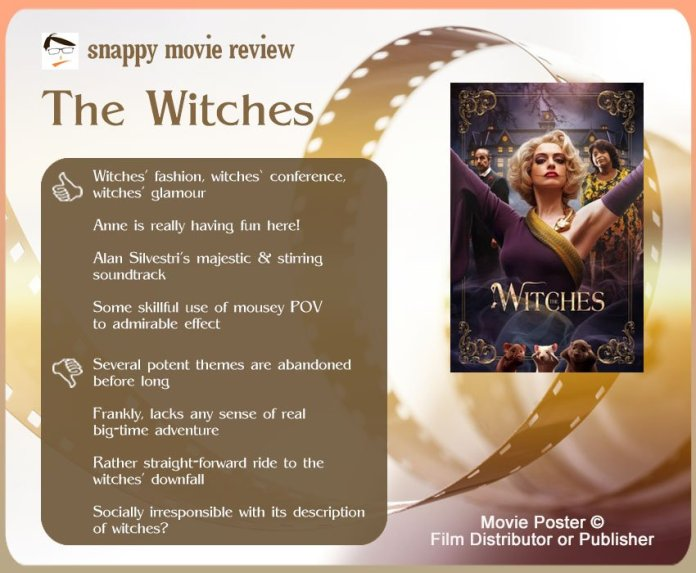 The Witches (2020) Review: 4 thumbs-up and 4 thumbs-down.