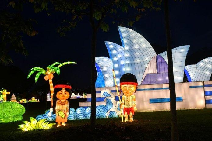 Sydney Opera House Lantern.