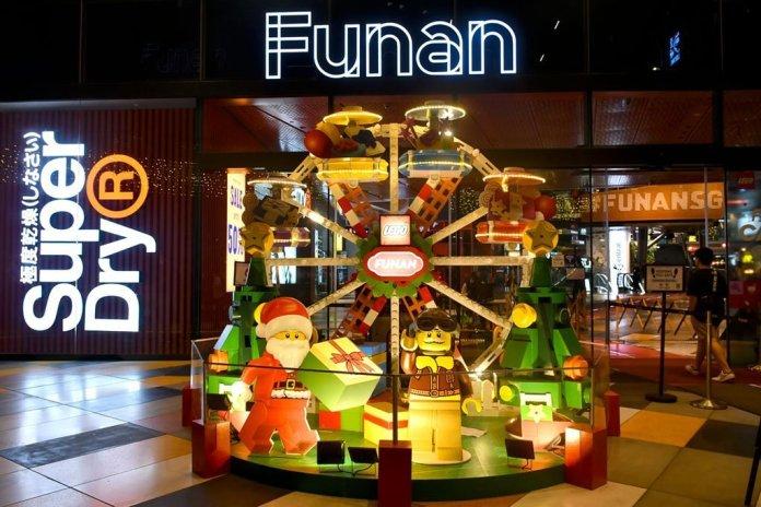 Funan Mall Christmas 2020.