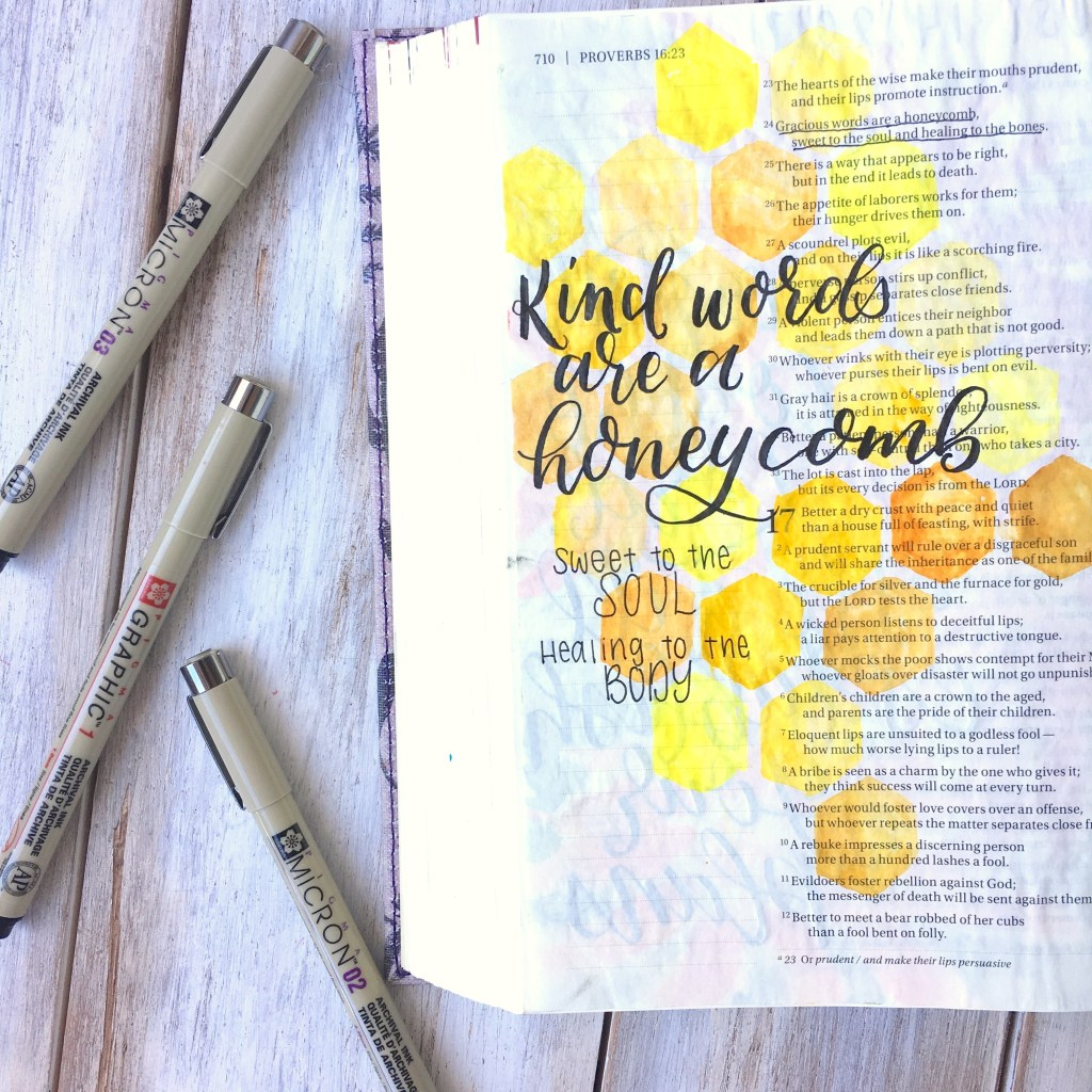 Stamp Goes On What Side Best Pens For Bible Journaling Scribbling Grace