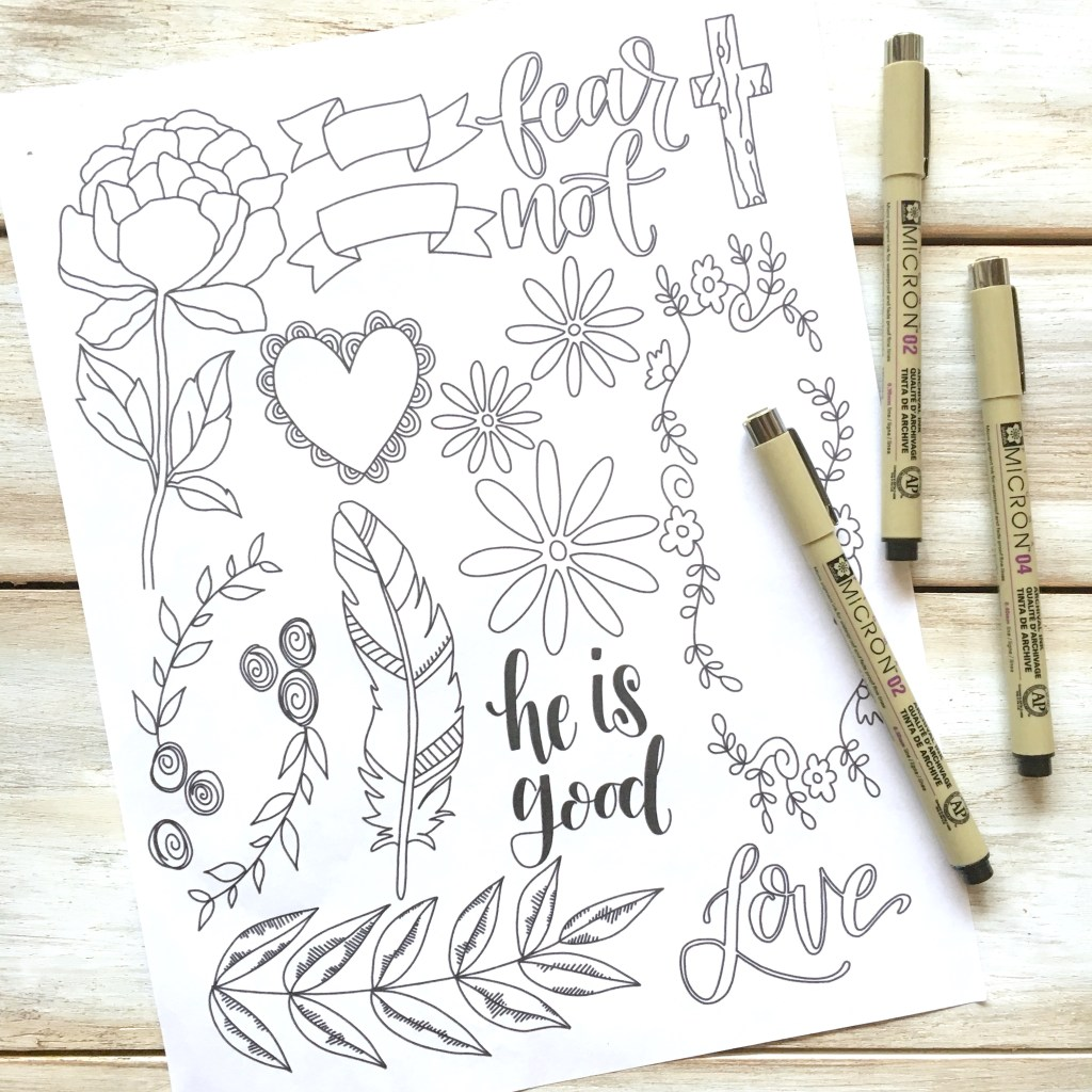 Get Your Free Bible Journaling Elements Printable Anyone Can Do Even If
