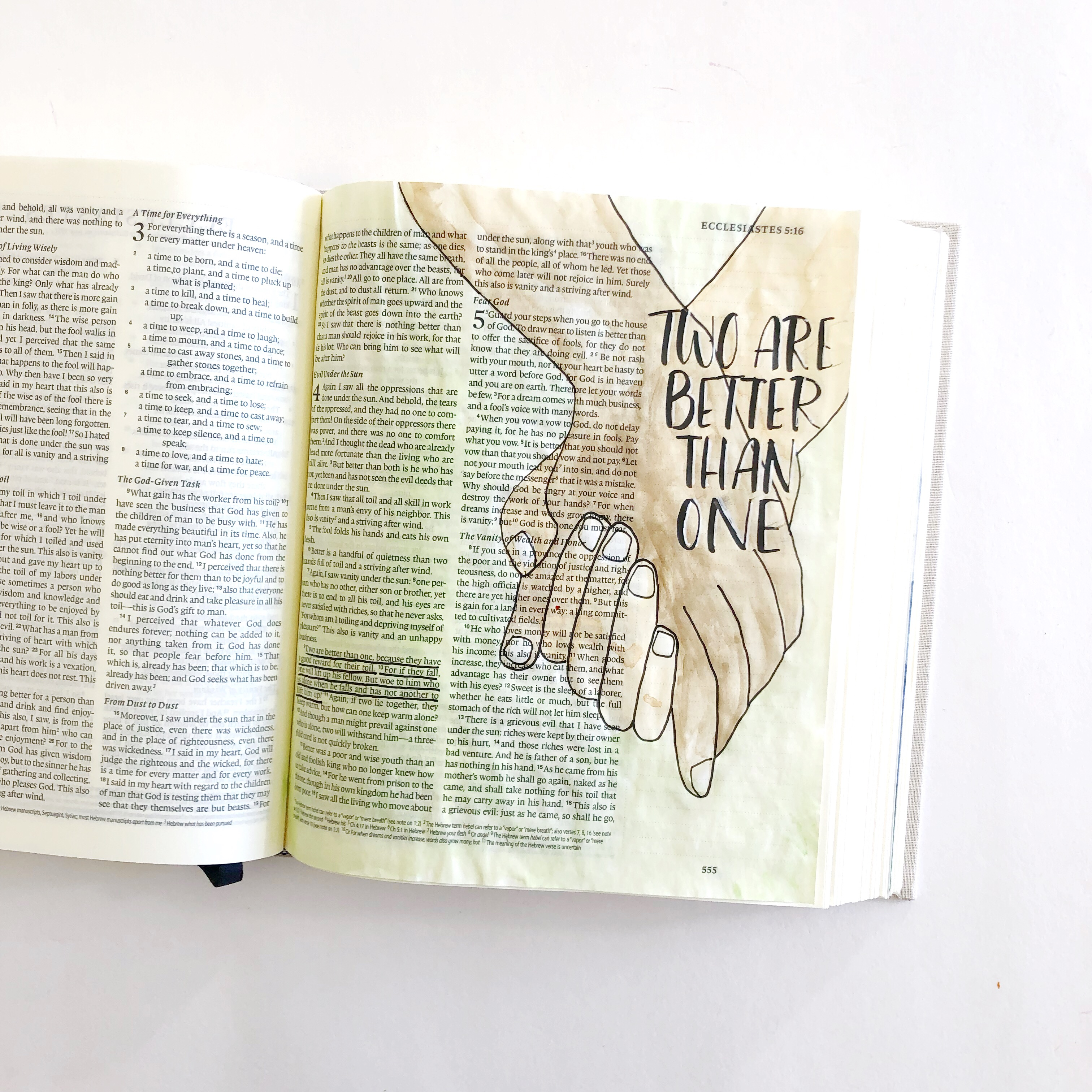 image about Printable Bible Journal Pages known as Starter Welcoming Bible Journaling- Maintaining Arms- Additionally a