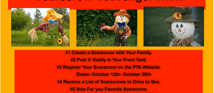 Register for Scarecrow Scavenger Hunt!